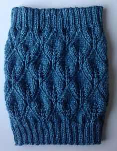 Ravelry: bwnatural's Leaves Neck Warmer