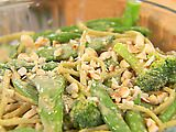 Aromatic Noodles With Lime Peanut Sauce Recipe