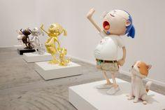 "Massimiliano Gioni: Let's start with the title of the exhibition: ""Murakami – Ego."" Takashi Murakami: ""Murakami – Ego"" is a self-portrait. Superflat, Fondation Louis Vuitton, Andy Warhol, Takashi Murakami Art, Balloons And More, Walker Art, Creative Review, Art Japonais, Flash Art"