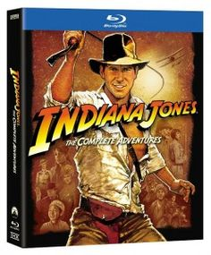 Giving away all 4 Indiana Jones Blu rays, ends 9/19.