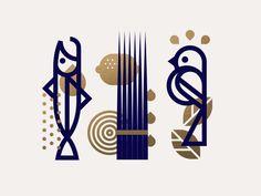 arty : graphique et minimaliste Logo Design, Identity Design, Icon Design, Graphic Prints, Graphic Art, Inspirations Boards, Logo Animal, Logo Minimalista, Catalog Design