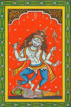 Lord Shiva Dances on Apasmar by puriwaves, via Flickr