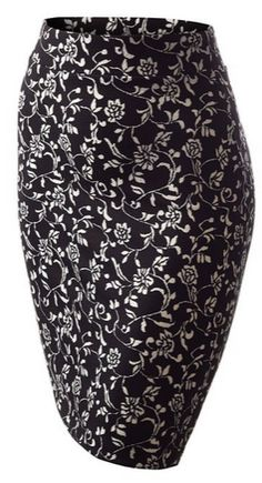 What? A modest pencil skirt for so cheap?Printed Pencil Skirt - A Thrifty Mom