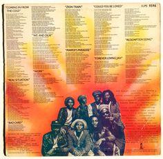 Bob Marley & The Wailers Uprising LP Vinyl by ThisVinylLife