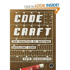 """Lewis Smith recommends Code Craft: The Practice of Writing Excellent Code: """"I'm listening to Emotional Success by David DeSteno. I'm hoping to use some of the ideas to help customers of my weight loss app stick to their targets and lose more weight. Cheap Computer Parts, Computer Parts And Components, Computer Books, Best Computer, Top Entrepreneurs, Noble Books, Presentation Styles, Writing Practice, Computer Programming"""