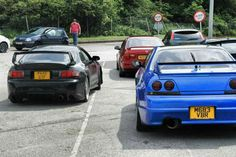 The Skyline, Gen6 and the Civic on the way to the Nationals