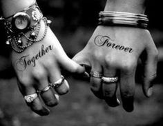 marriage tattoos for couples | amazing couples tattoo ideas 300x233 Unique Tattoo Designs For Couples