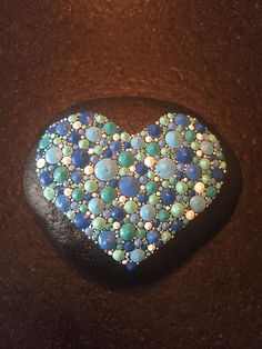 Valentine Painted Rocks 17