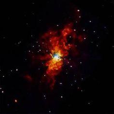 Supernova SN 2014J Explodes