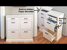 Free woodworking plans from Ana White, a self-taught designer and builder dedicated to helping people create their own furniture. Find the best DIY furniture plans here! Cabinet Plans, Filing Cabinet, Diy File Cabinet, Stereo Cabinet, Furniture Projects, Home Projects, Furniture Design, Building Furniture, Office Furniture