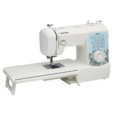 Brother Full-Featured Sewing and Quilting Machine with 8 Sewing Feet, Wide Table and Instructional DVD, Image 2 of 8 Sewing Machines Best, Brother Sewing Machines, Sewing Machine Quilting, Sewing Machine Reviews, Blind Stitch, Led Work Light, Sewing Projects For Beginners, Diy Projects, Sewing A Button