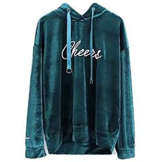 ZSN Womens Embroidery Hoodie Long Sleeve Velvet Top Sweatshirts ** Read more reviews of the product by visiting the link on the image. (This is an affiliate link and I receive a commission for the sales)