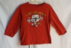 "The Children's Place orange  ""I Love My Mummy""   Longsleeve Top size 3T #Halloween #TCP"