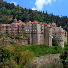 Monastery of Zografou, Mount Athos, Greece Empire Ottoman, The Holy Mountain, Macedonia Greece, Christian World, Church Architecture, Place Of Worship, Travel Photos, Cathedral, Tourism