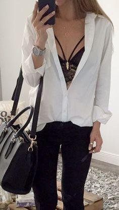 Outfits a los que necesitas agregarle un Bralette negro