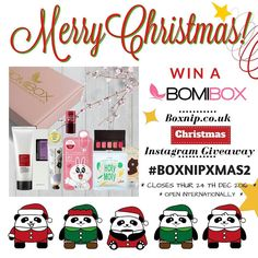 Don't forget to enter my Christmas Giveaway to win a January @mybomibox  Not the box in the image that's just for illustrative purposes. It ends this Friday 24th December at 8pm GMT! Open Internationally.  . . Christmas Giveaway Rules & Terms & Conditions To enter you must be following me repost this picture tag @boxnip  and use the hashtag: #boxnipxmas2 Your Instagram account must be public otherwise I can't see your post. The competition is open Internationally and ends at 8pm GMT Thursday…