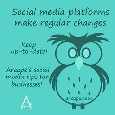 For best results from your social media marketing, you will need to keep up-to-date with the regular changes made on the platforms.