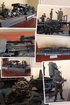 Morser Karl Gerat Rail Gun by Mike Ragonese