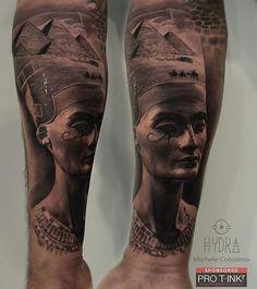 : @michelecol90 Michele Colosimo Nefertiti. @pro_t_ink @armyztattoomachines . For info hydraskindesign@gmail.com . #tattoo #tattoos #nefertiti #blackandgreytattoo #tattoostation #protink #inked #inkedup #intenzeink #intenzepride #intenzeproducts #sullen #inkedmag #inkedmagazine #freshlyinked #tattooink #tattoosociety #tattooed #tattooing #tattooist #tattooart #lion #tattooartist #instatattoo #tattoodo #blackswan #sponsored #evo24 #evo10