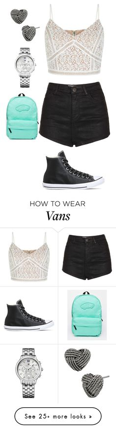 """""""Untitled #361"""" by rhay-q on Polyvore featuring Vans, Topshop, Betsey Johnson, Tommy Hilfiger and Converse"""