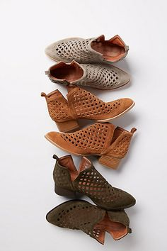 These would be nice in every color! Jeffrey Campbell Taggart Booties #anthropologie