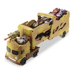 Guardians of the Galaxy Hot Wheels Groot Hauler Mattel Guardians of the Galaxy Vehicles: Die-Cast