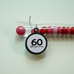 60th birthday favors Ms Keahs Creation Boutique Pinterest
