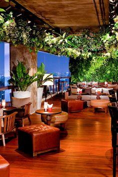The sultry interiors at the Scarlett Wine Bar & Restaurant set the mood for fine Euro dining. #Jetsetter Pullman Bangkok