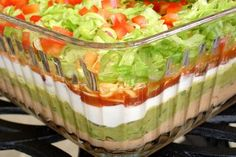 This takes 7 layer salad to a new level....make it for your summer picnics