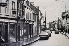 Barrack Street in Image from the Evening Echo. Cork City Ireland, Historical Society, Old Photos, Honda Bikes, Street View, Image, Thoughts, Old Pictures, Honda Motorcycles