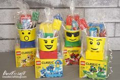 How to Build: Lego Unicorn ways! Lego Unicorns are the best! I found a severe lack of Unicorn Lego instructions and. Lego Party Decorations, Lego Party Favors, Lego Themed Party, Diy Party, Craft Party, 6th Birthday Parties, Diy Birthday, Diy Lego Birthday Party Ideas, Lego Movie Birthday