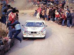 Martini Lancia 037 attacks