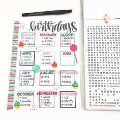 I'm a guest on @the_happy_planner blog today!! Go check the post out to find out how I created this birthday page for my planner!… Happy planner Sky Planner, Planner Pages, Planner Layout, Life Planner, Happy Planner, Blog Planner, Printable Planner, Planner Ideas, Bullet Journal Spread
