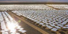 La centrale d'Ivanpah dans le désert des Mojaves aux États-Unis a été inaugurée jeudi 13 février. DR
