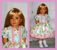 "Handmade dress compatible with kidz n cats 18"" dolls"