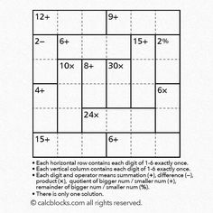 Answers for theses puzzles will be uploaded on the website following. PDF file for print is also available.  http://ift.tt/2d5BzPR  #l4l  #like4like #followme #puzzle #sudoku #game #studygram #study  #fun #instagood #instafollow #quiz #math #teacher #education #instadaily