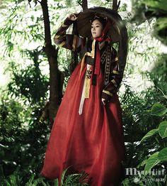 traditional korean hanbok winter | Korean traditional dress (Hanbok)