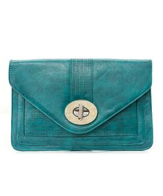 Dina Clutch in Teal » Great color!