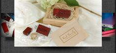 Flash drives for photographers - Custom packaging & accessories for weddings & events