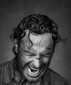 Ravageurs scream. | Andrew Lincoln by Dan Winters