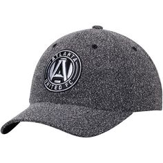 cheap for discount 7f1d4 3105c ... coupon code mens atlanta united fc mitchell ness heathered gray static  structured adjustable hat 29.99 6865e