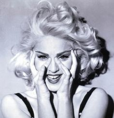 Madonna took style cues from Marilyn since her debut in the 80's.