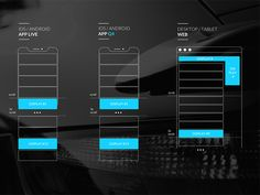 Wireframe for Ad positioning by JuanManuel SB