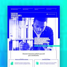 New site launch! (for Jobs For The Futures Center for Apprenticeship & Work-Based Learning) . Future Jobs, News Sites, Community College, Job S, Web Design, Product Launch, Learning, Design Web, Website Designs