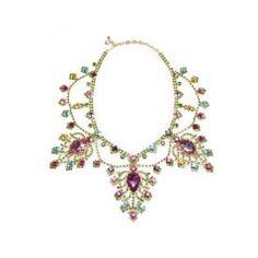 Swarovski Pear Drop Necklace