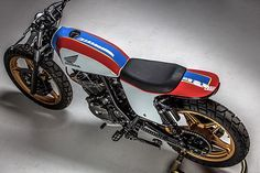 Clean or dirty? Honda Ascot by Motorelic. Moto Street Tracker, Tracker Motorcycle, Scrambler Motorcycle, Bobber, Custom Cycles, Custom Bikes, Dominator Scrambler, Cb 600, Motos Honda