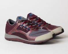 Men's Nike LunarSpider LT+ 2 x UNDERCOVER Gyakusou Midnight Fog Deep Burgundy Sneakers : A96w8586