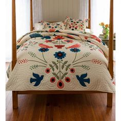 Shop a great selection of Ansley Folk Art Quilt Set Plow & Hearth. Find new offer and Similar products for Ansley Folk Art Quilt Set Plow & Hearth. Navy Quilt, Scandinavian Folk Art, Queen Quilt, Quilt Sets, Cotton Quilts, My New Room, Duvet Cover Sets, Pillow Covers, Decoration