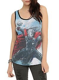 HOTTOPIC.COM - Marvel Avengers: Age Of Ultron Thor Girls Tank Top