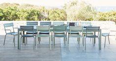 mobilier de jardin, chaise metal, fauteuil de jardin, mobilier terrasse, table de jardin, table à rallonge  tuinstoel fermob luxembourg meubel